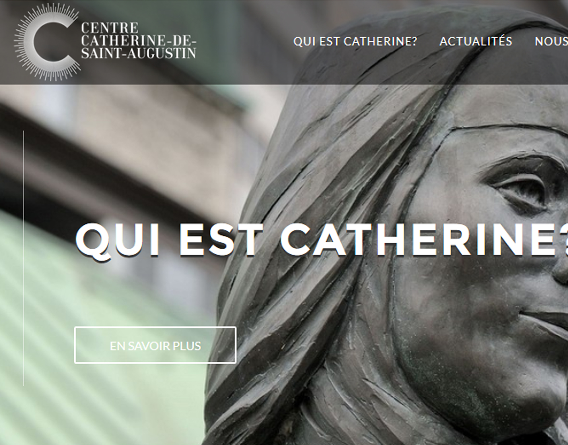 Site Web - Centre Catherine